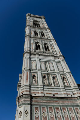 Campanile di Giotto, Florenz