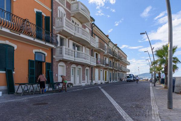 Promenade von Porto Recanati, Marken