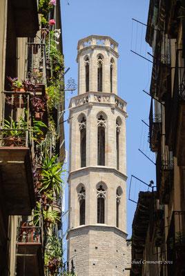 Turm der Basilika de Santa Maria del Mar, Barcelona