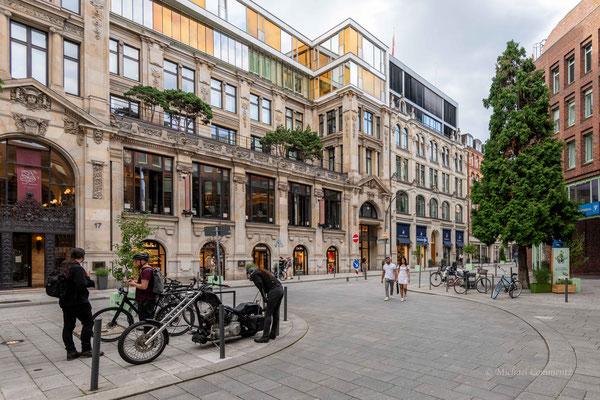 Hamburg; Die Bank, Brasserie & Bar in dem ursprünglichen Gebäude der Hypothekenbank Hamburg AG