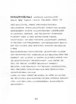 """Beschreibung """"HINOMISAKI"""""""