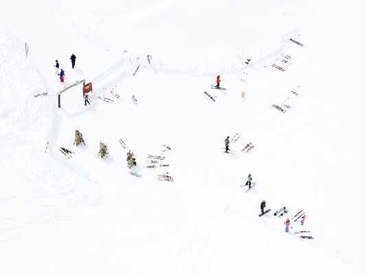 "Joshua Jensen-Nagle, ""Long Mountain Days (Zermatt, Switzerland),"" archival inkjet print face-mounted to Plexiglass, available: 30x40"", 43x57"", 58x77"""