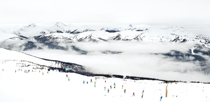 """Joshua Jensen-Nagle, """"A View for You (Whistler, Canada,)"""" archival inkjet print face-mounted to Plexiglass, available in: 28x58"""",  34x70"""", 43x88"""""""