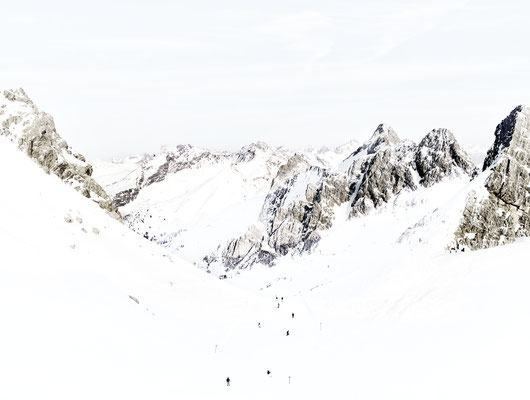 """Joshua Jensen-Nagle, """"The Way We Go (St. Anton),"""" archival inkjet print face-mounted to Plexiglass, available in: 30x40"""", 43 x 57"""", 58 x 77"""", 70 x 93"""""""