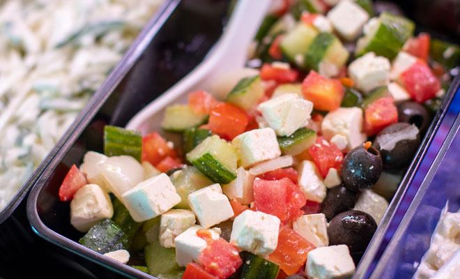 Traiteur Produkt, Salat, Griechischer Salat