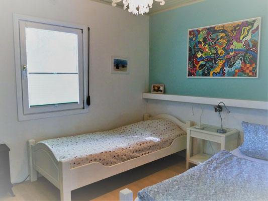 Doppelzimmer mit Einzelbetten