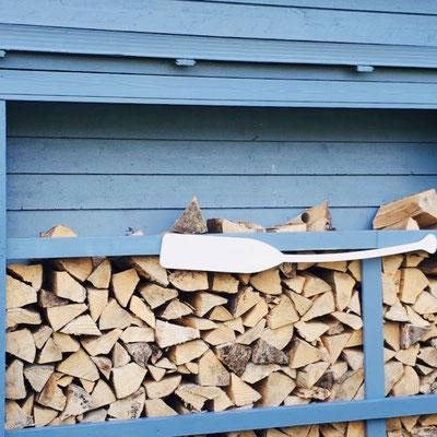 Holz für den Kaminofen inklusive