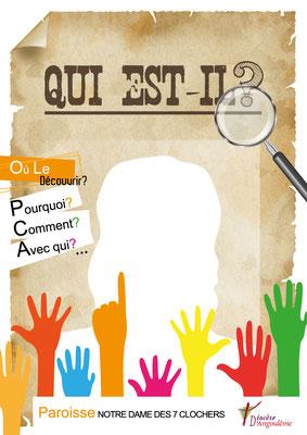 Réalisation d'une plaquette pour les inscriptions au caté - Doyenné Angoulême Ouest