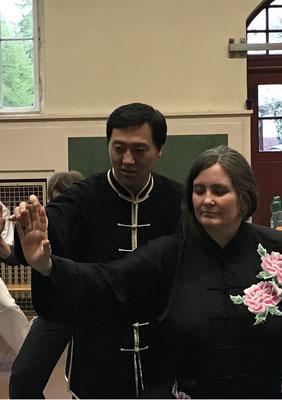 mit Meister Chen Bin bei unserem Berin-Seminar 2017