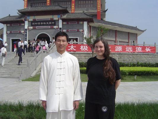 mit Meiter Chen Bing in Chenjiagou 2011