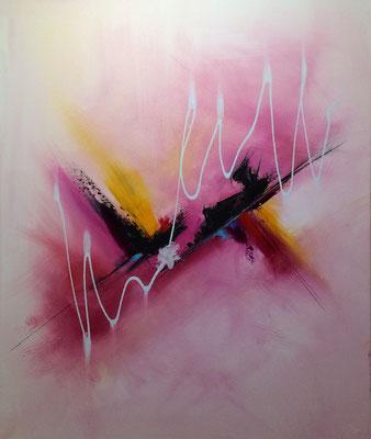 peinture abstraite étrange - PLUS DISPONIBLE