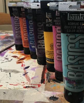 peinture liquitex