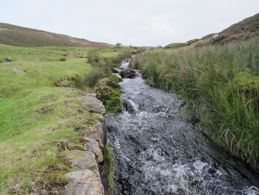 The stream for the Smelting Mill