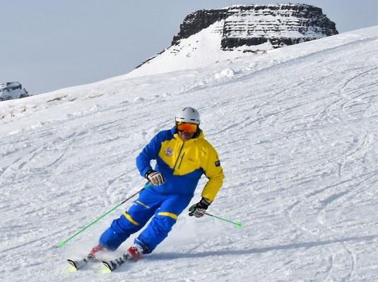 Klassenunterricht Ski