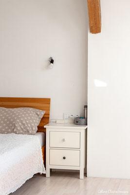 Die Nachttischlampen werden aus derselben Serie wie unsere Deckenlampen sein, über dem Bett fehlt auch noch ein schönes Detail (Bild, Kranz,...)