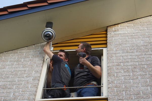 4 mei: Koppelaar Beveiliging installeert een webcam. Geweldig!