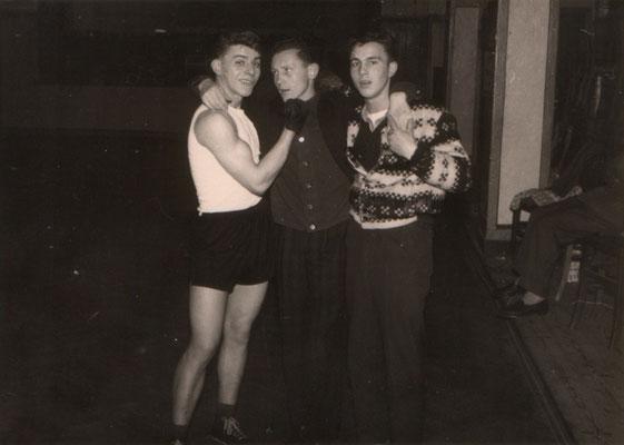 v.l. Rudolf Sünzenich, Rudi Moos, Fred Baier