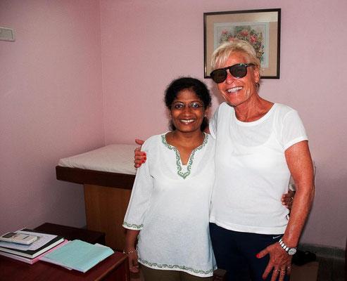 Konsultation mit der Ayurveda Ärztin