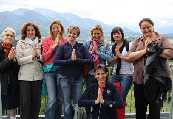 Gruppe Mentaltraining und Yoga