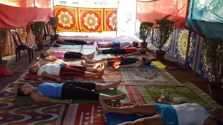 Gruppenreise - Yoga Nidra in Indien