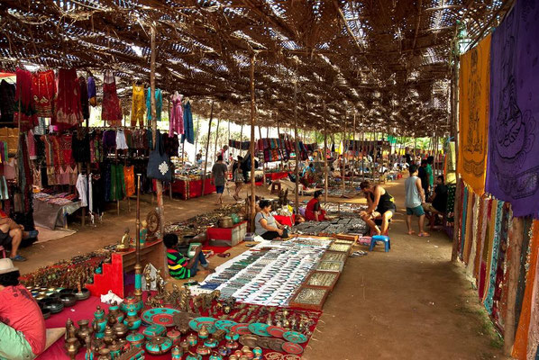 Shopping - Anjuna Hippie Market