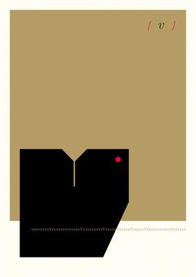 Typografie-Poster MOD by Thomas Heck, Grafikdesigner, Karlsruhe