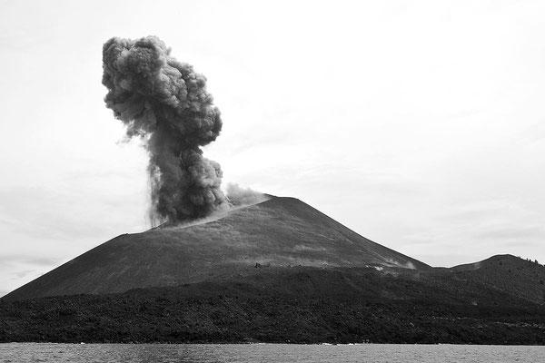 Schwarz-Weiß-Fotoprojekt by Thomas Heck, Grafikdesigner, Karlsruhe – Vulkan