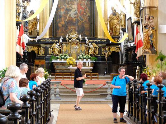 In der kath. Pfarrkirche St. Veit