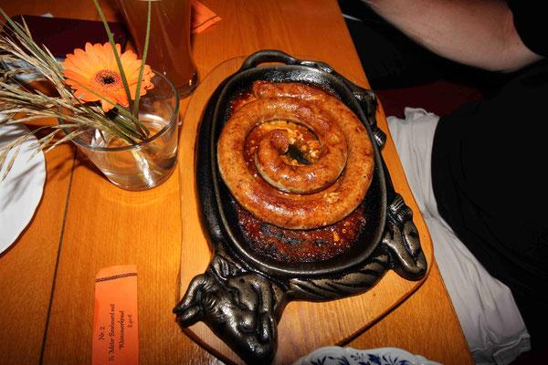 Die 1/2 Meter Bratwurst