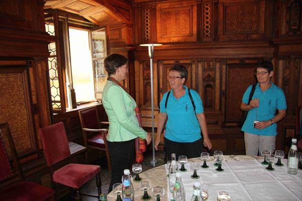 Gespräch mit der Touristik-Beauftragten, Frau Castell