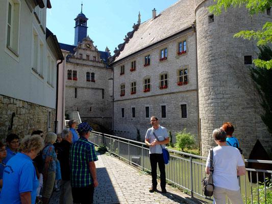 Am Maintor (Schwarzer Turm/Rathaus)