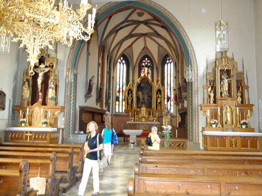In der Sulzfelder Kirche