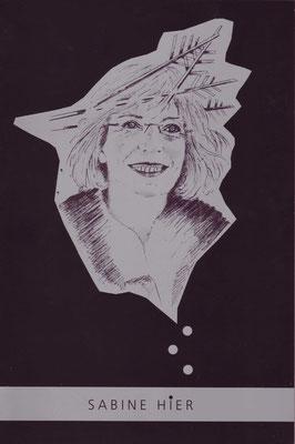 Sabine Leutheußer-Holz, Zeichnung, 2012