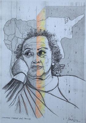 """Schwarze Sibylle"" (Toni Morrison), 2018 (#954)"