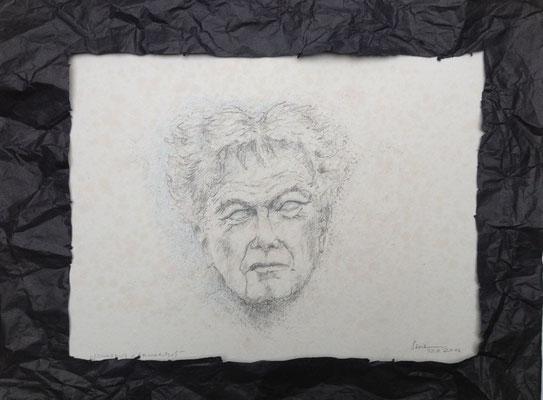 """""""Conradus Nirwanus"""", 2016, Zeichnung, 21 x 15 cm (#821)"""