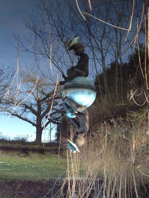 Seerosenbrunnen, 2005, Bronze, im Besitz der Künstlerin, Foto: Januar 2016 (#806)
