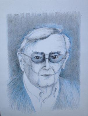 Eberhard Bäumer, 2015 Zeichnung, 40 x 30 cm (#800)