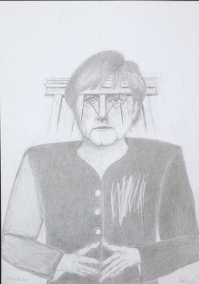 """""""Durchblick"""", 2018, Zeichnung, 40 x 30 cm (#933)"""