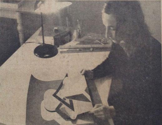 Im Atelier, 1972