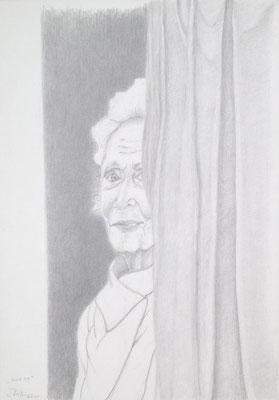 """""""Elke bühnenreif"""" (Elke Twiesselmann), 2017 (#895)"""