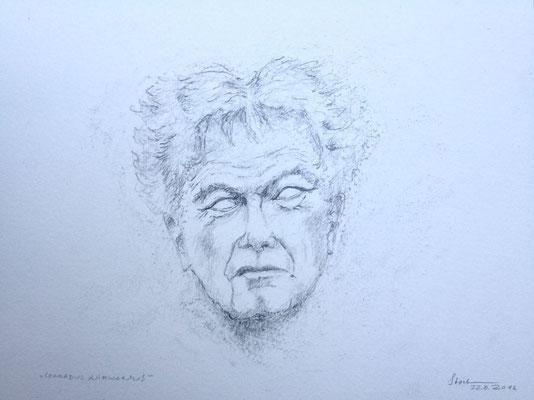 """""""Conradus Nirwanus"""", 2016, Zeichnung, 21 x 15 cm (#819)"""