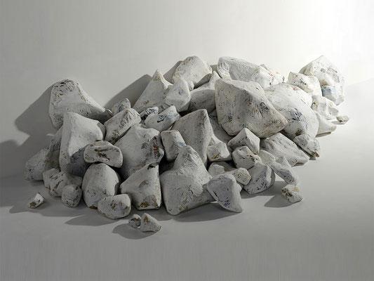 Zeit-Steine | variabel, ca. 200x200x100 cm