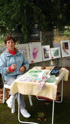Marie Jo Sylvestre a réalisé une très belle aquarelle