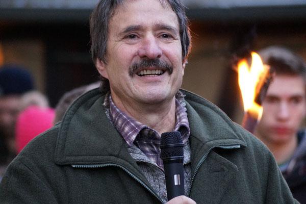 Ulrich Mergner ließ die Treibjagd im Revier Oberschwarzach der Bayerischen Staatsforsten Revue passieren.