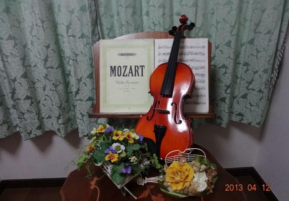 レッスン室 A-durバイオリン・チェロ教室