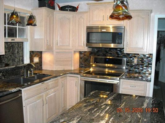 fabricante de cocinas de granito