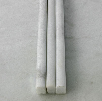 moldura bull nose  marmol blanco