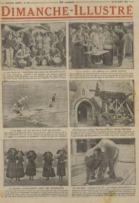 Une du Dimanche-Illustré du 21 août 1932