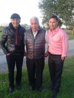 De gauche à droite : Johnny Moore, Pat Moore et Nathan Moore