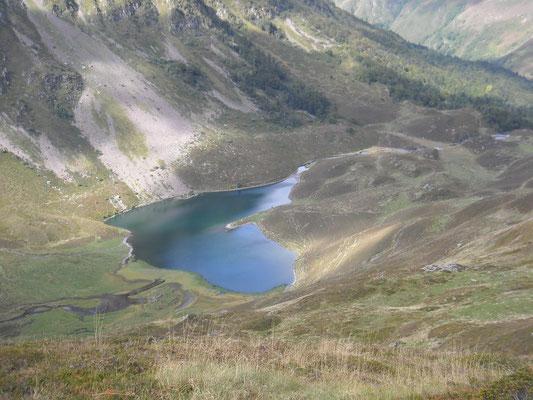 Lac d'Isaby, vu de la Cne.